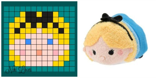 Pixel Art Disney Tsum Tsum Stitch