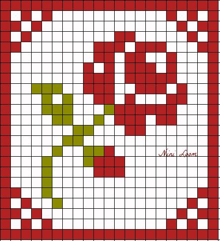Pixel Art Fleure