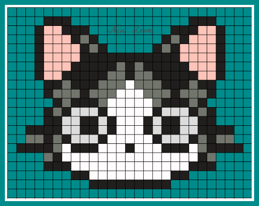 Pixel Art De Chat