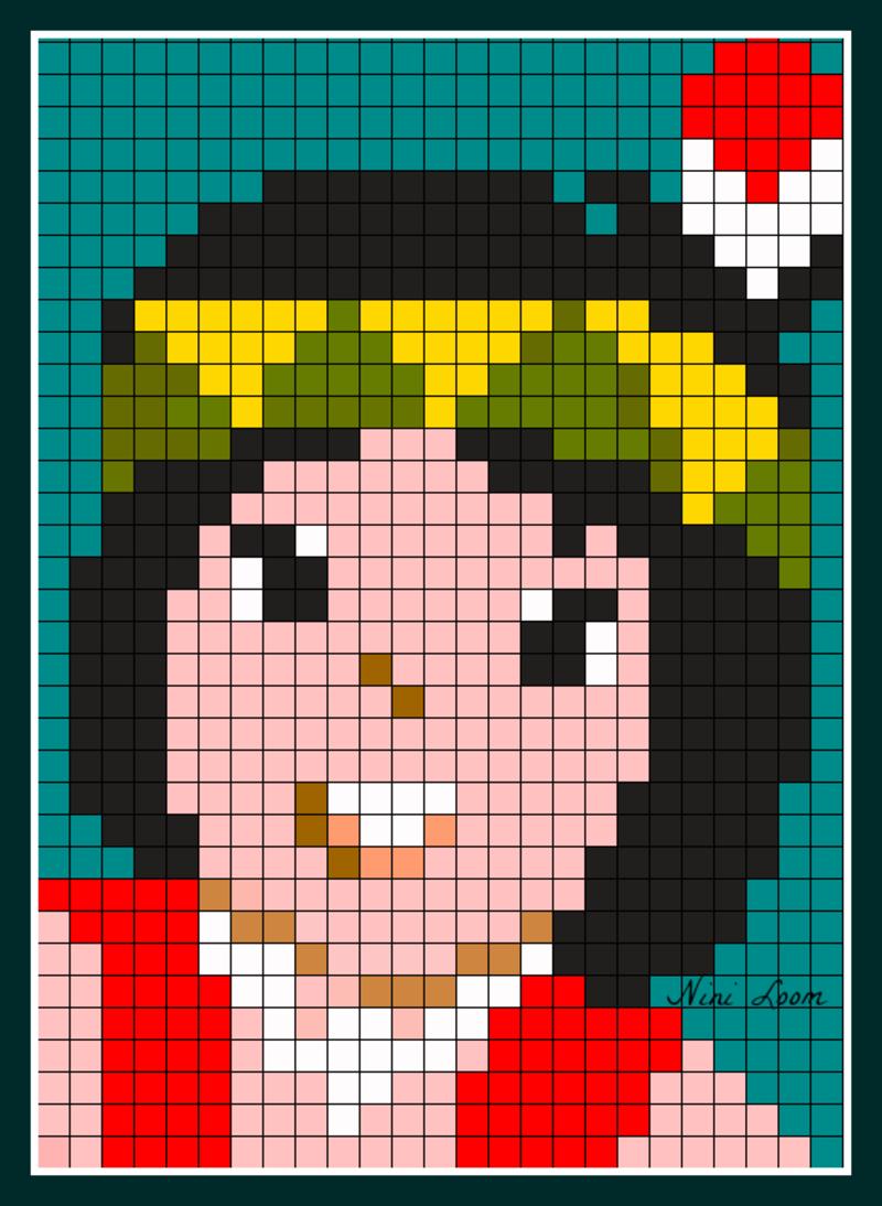 pixel art indien