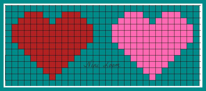 Pixel Art En Cœur