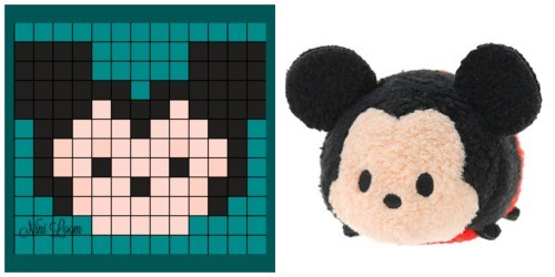 Kawaii Disney Tsum Tsum Pixel Art