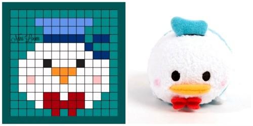 pixel art tsum tsum