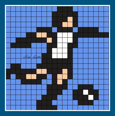 Dessin Pixel Joueur De Foot