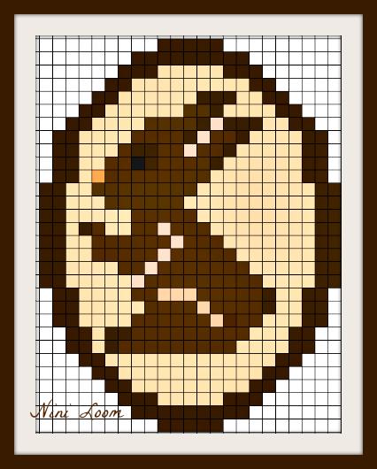 Lapin Pixel Art Animaux Trop Mignon