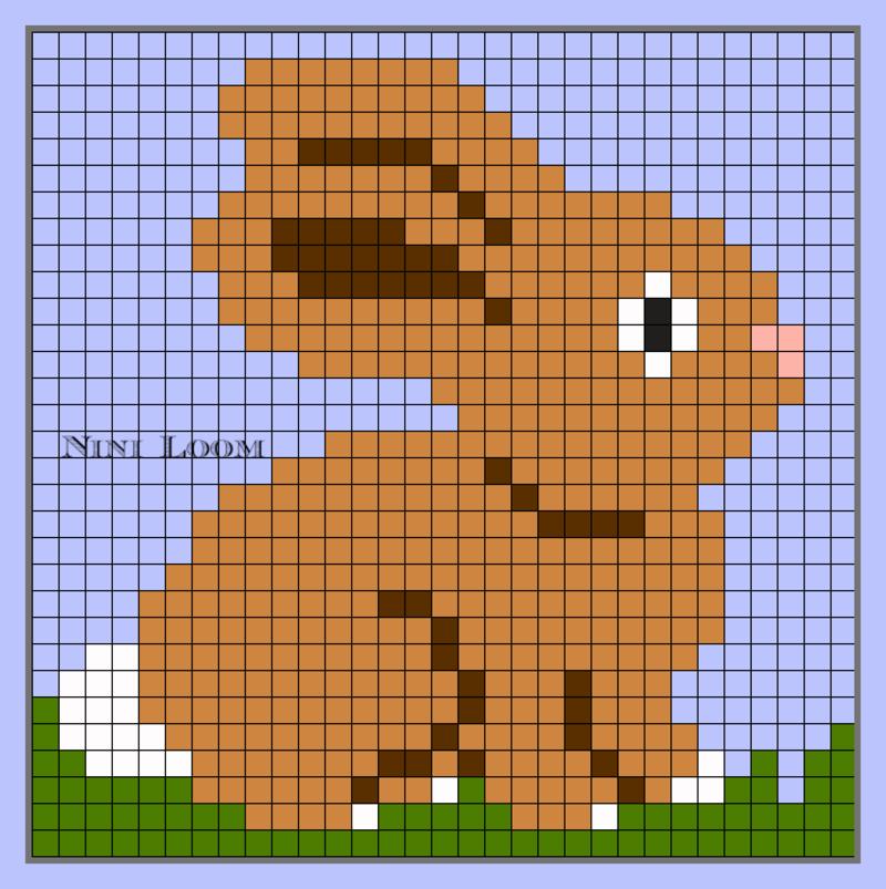 Pixel Art Lapin
