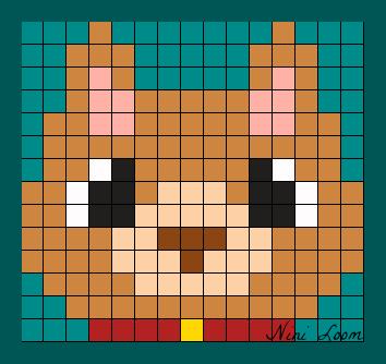 Pixel Art Chat Facile