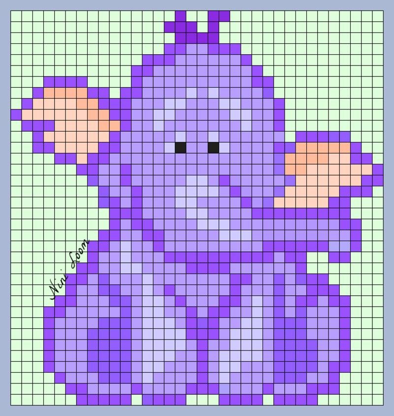pixel art joie