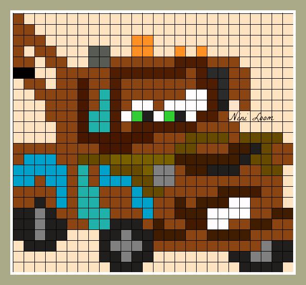pixel art a imprimer