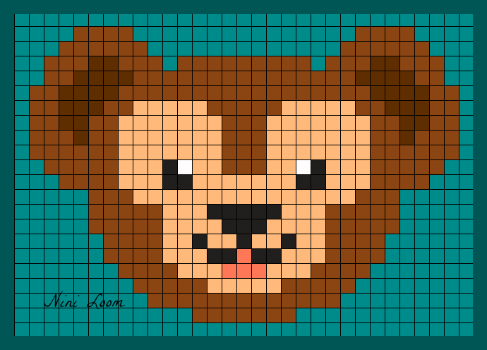 pixel art ours