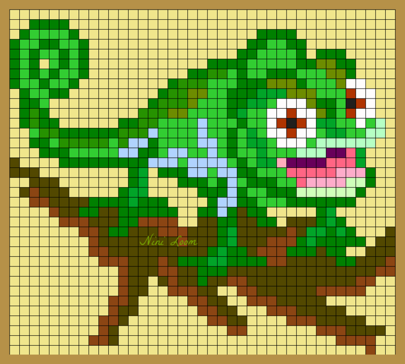 Pixel Art Raiponce