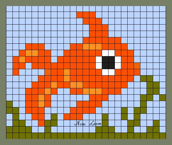 Pixel Art Poisson