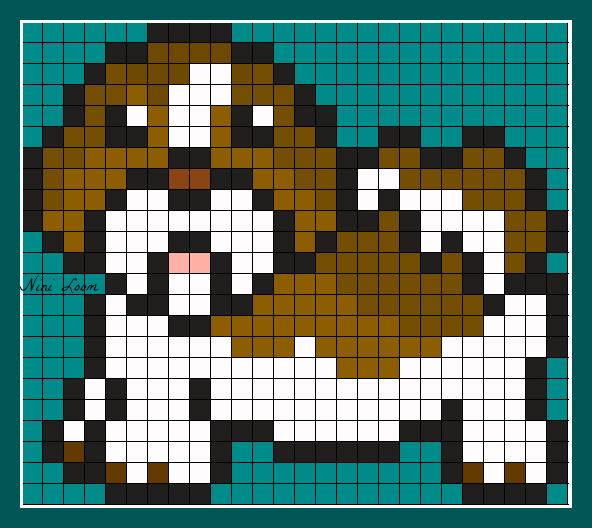 Pixel Art Un Chien