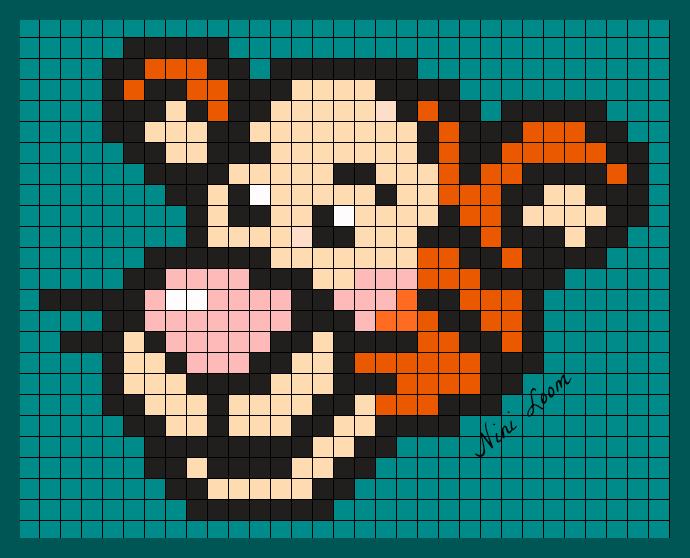 Pixel Art Tigrou